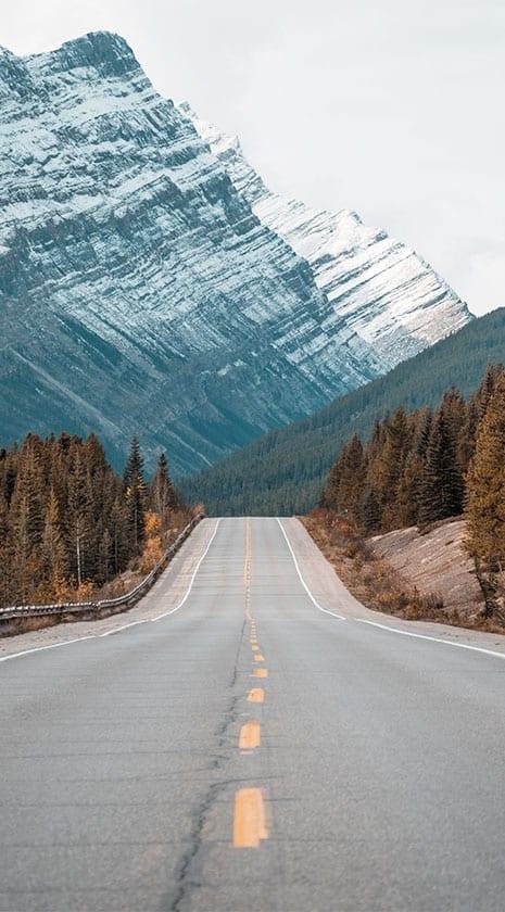 Social Media Strategy image - mountain